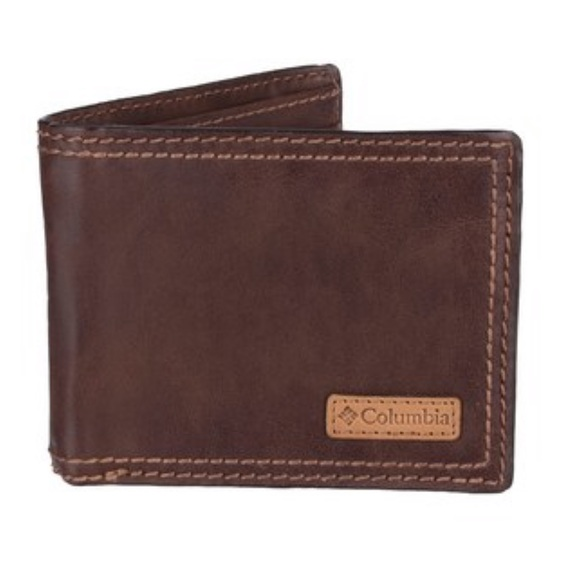 Columbia Other - Men's Brown Leather Columbia Wallet